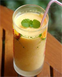 Sinh tố xoài nước cốt dừa