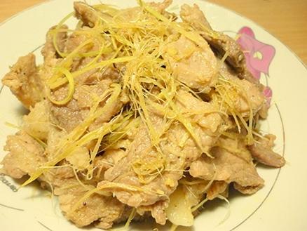 Thịt lợn rang sả