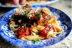Sườn nướng sốt cà chua