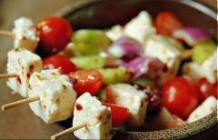 Salad Feta Kabobs