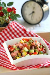 Salad hạt dẻ