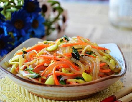 Salad rau mầm