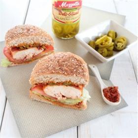 Sandwich gà