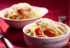 Spaghetti bí ngòi cà chua