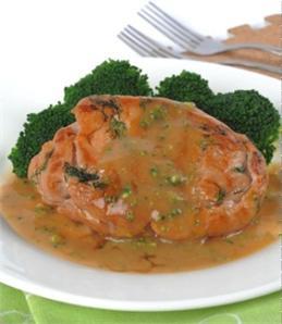 Thịt heo sốt bông cải