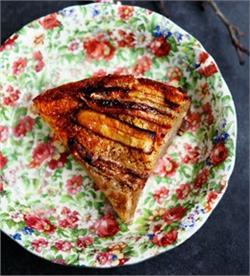 Bánh chuối nướng kiểu Việt