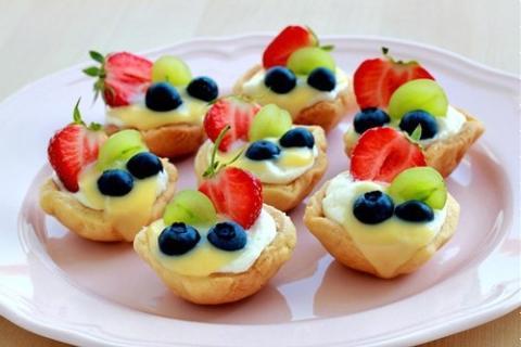 Tart hoa quả mini