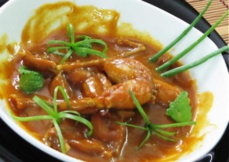 Ếch nấu curry