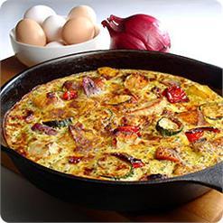 Trứng nướng Frittata
