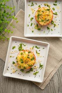 Trứng nướng cà chua