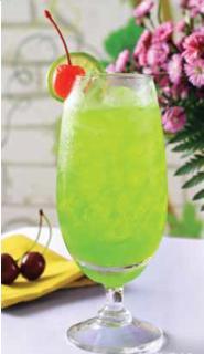 Mocktail trà xanh