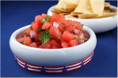 Salad dưa hấu – cà chua