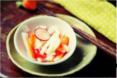 Củ cải muối chua ngọt
