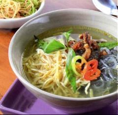 Miến dong nấu lươn chiên