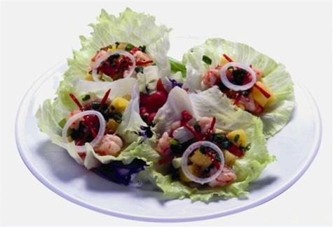 Gỏi xà lách thơm hải sản
