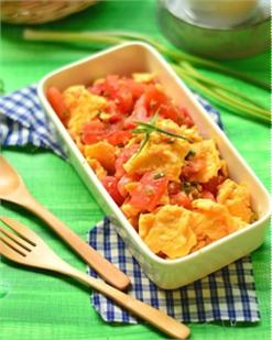 Trứng đảo cà chua
