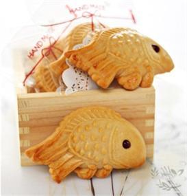 Bánh trung thu con cá