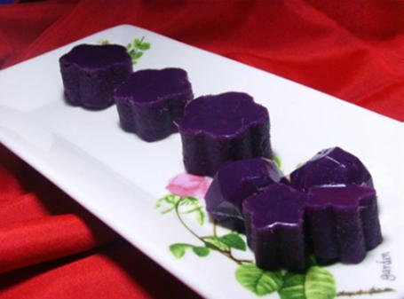 Thạch khoai lang tím