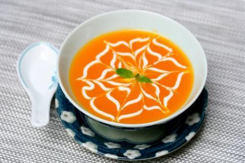 Chè bí đỏ cốt dừa