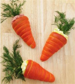 Bánh mì hình củ cà rốt