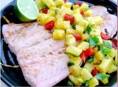 Salad dứa cá hồi