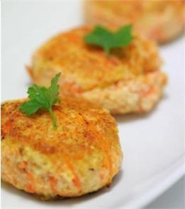 Bánh cà rốt đậu phụ