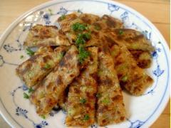 Pancake đậu phụ khoai tây