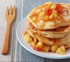 Pancake sốt táo caramel