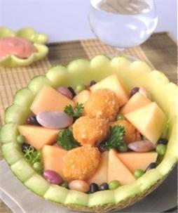 Salad dưa lưới