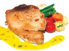 Cá ngừ sốt bơ trứng