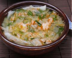 Canh chua bắp cải