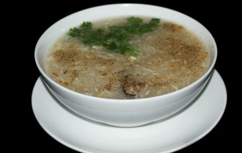 Súp bào ngư nấu cua