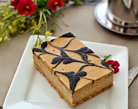 Cheesecake cà phê
