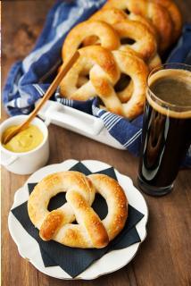 Bánh mì bơ pretzels