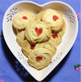 Bánh quy bơ mứt dâu