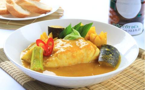 Cà ri cá chẽm