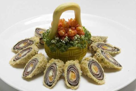 Cà rốt cuộn rong biển