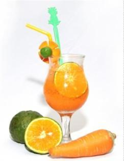 Nước cà rốt mix cam