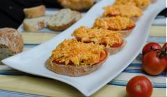 Bánh mì sandwich cà rốt