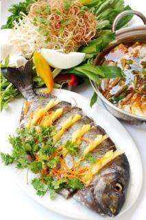 Lẩu cá dìa nấu chua
