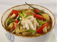 Canh cải chua nấu cá cơm