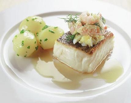 Cá hồi nướng sốt bơ tỏi