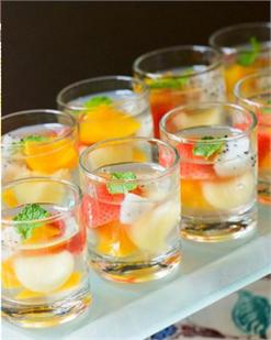 Thạch hoa quả bạc hà