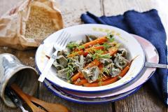 Salad hoa atiso cà rốt