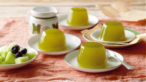 Thạch sữa chua trà xanh