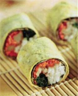 Sushi trứng cuộn rong biển