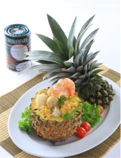 Cơm thơm hải sản nước cốt dừa