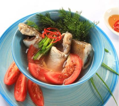 Canh cá đối nấu riêu