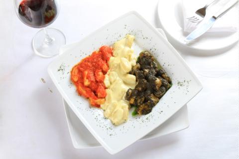 Mỳ Gnocchi tam sắc kiểu Ý