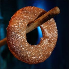 Donut bí đỏ